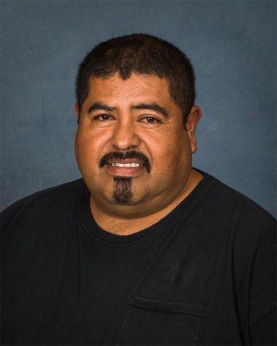 Rodrigo Gutierrez, Facilities Specialist