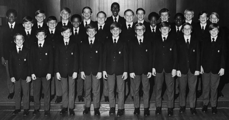 Texas Boys Choir 1970