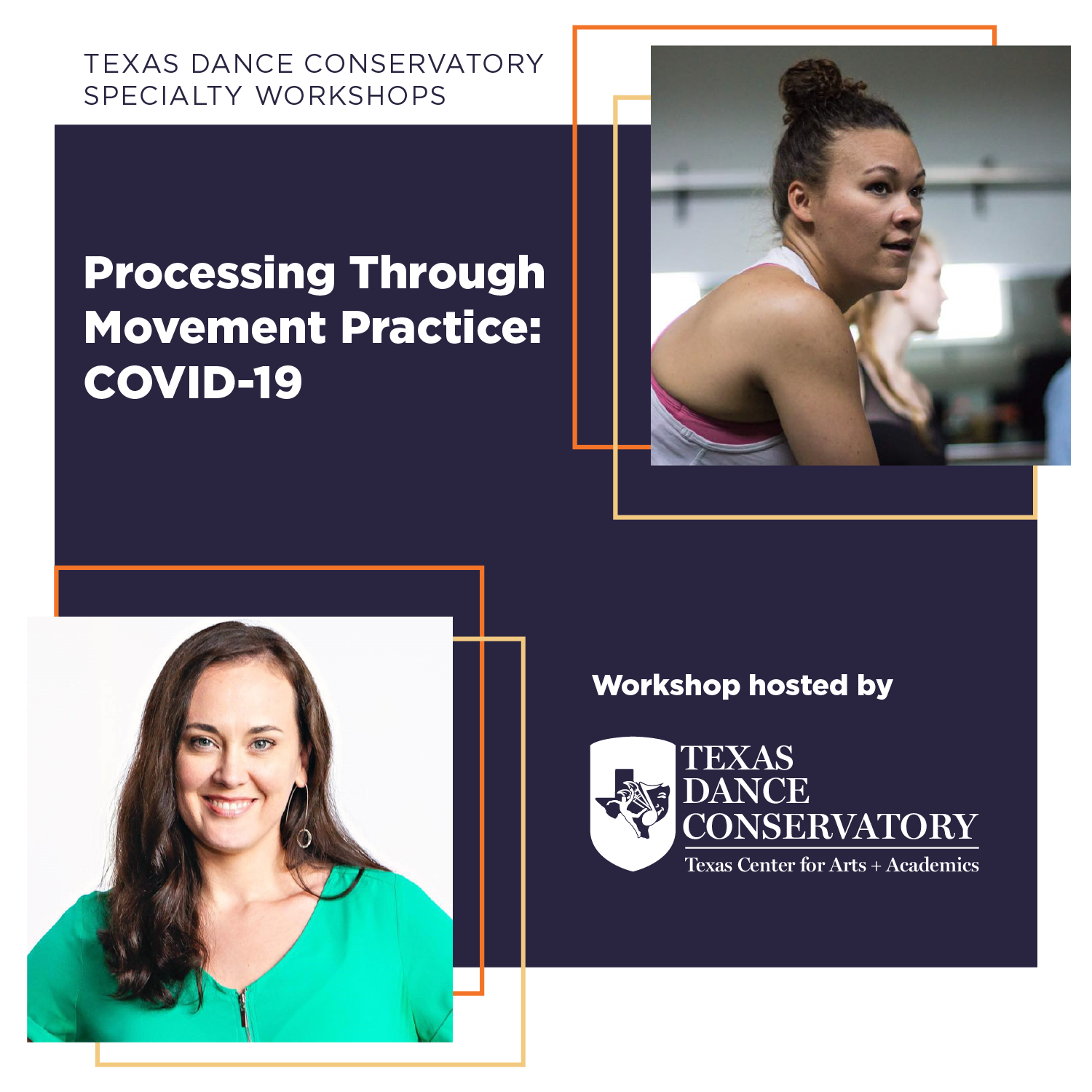 Virtual Specialty Workshop - Processing Through Movement Practice: COVID-19